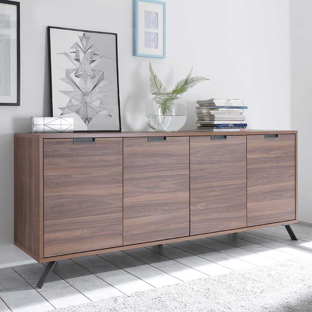 Sideboard im Retro Look 4 türig