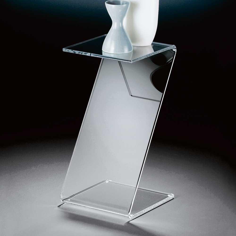 Telefontisch aus Acrylglas modern   Flur & Diele > Telefontische   Weiß   Glas   TopDesign
