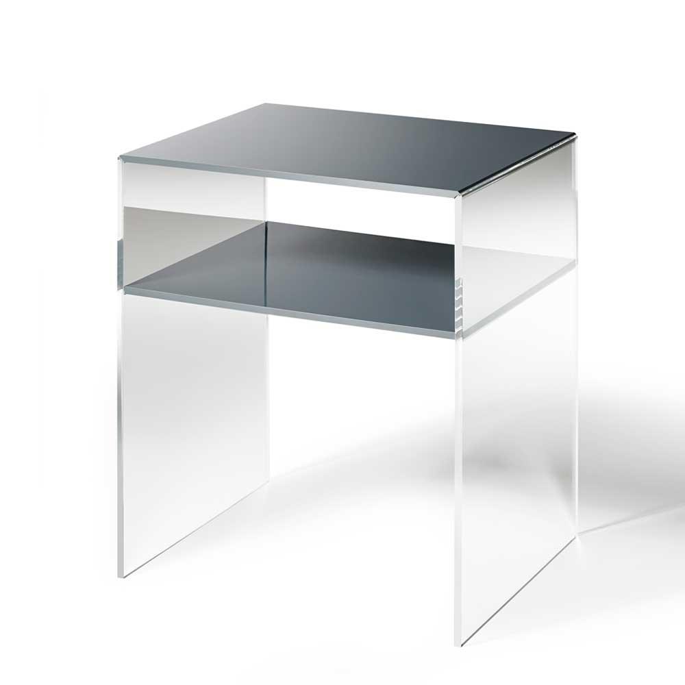 telefontisch aus acrylglas dunkelgrau moebel suchmaschine. Black Bedroom Furniture Sets. Home Design Ideas