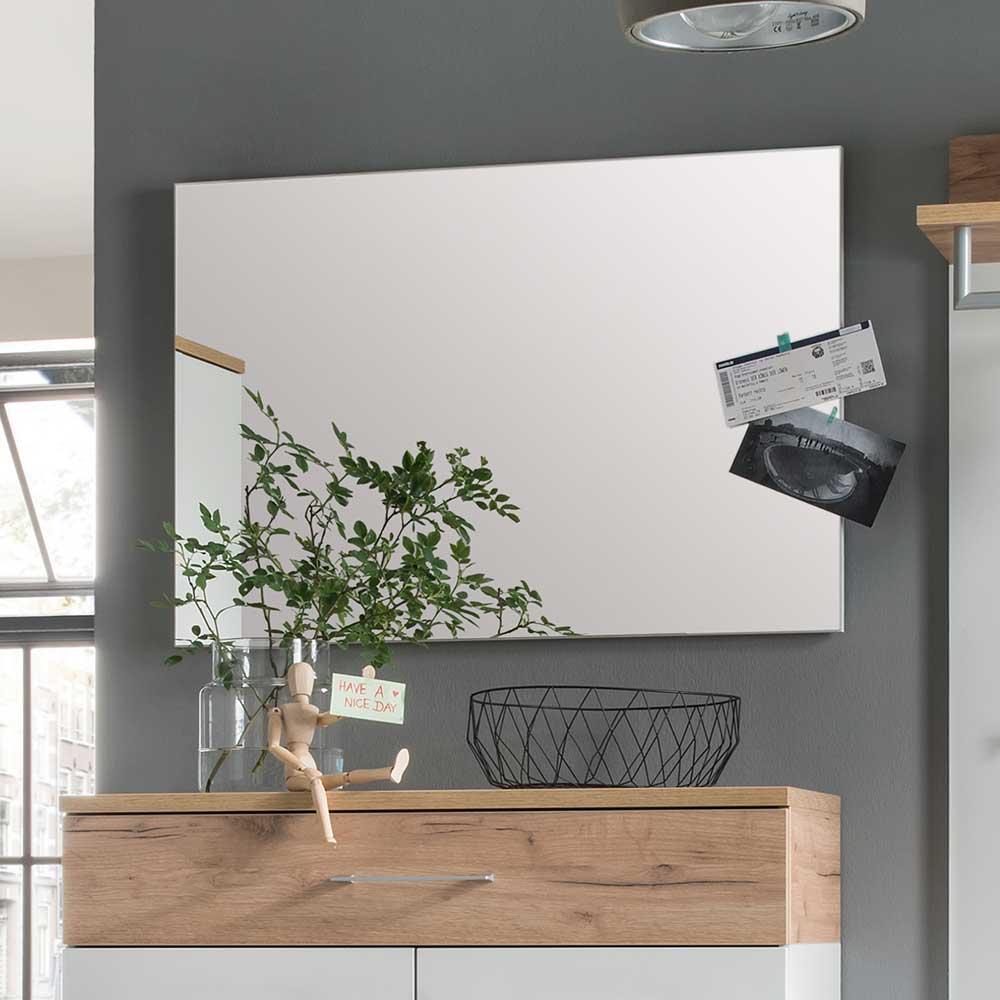 Garderobenspiegel in Weiß 60 cm hoch | Flur & Diele > Spiegel > Garderobenspiegel | Möbel Exclusive