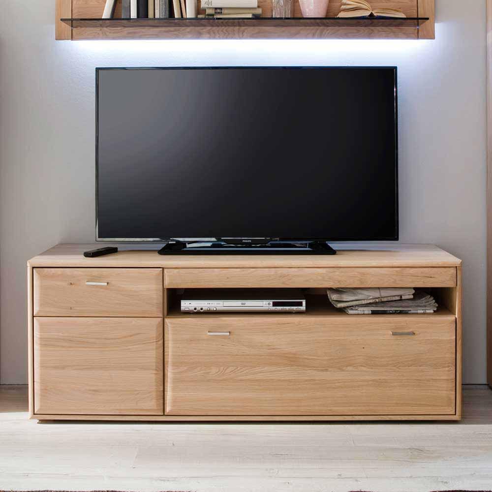 TV Lowboard aus Eiche hell geölt 150 cm breit