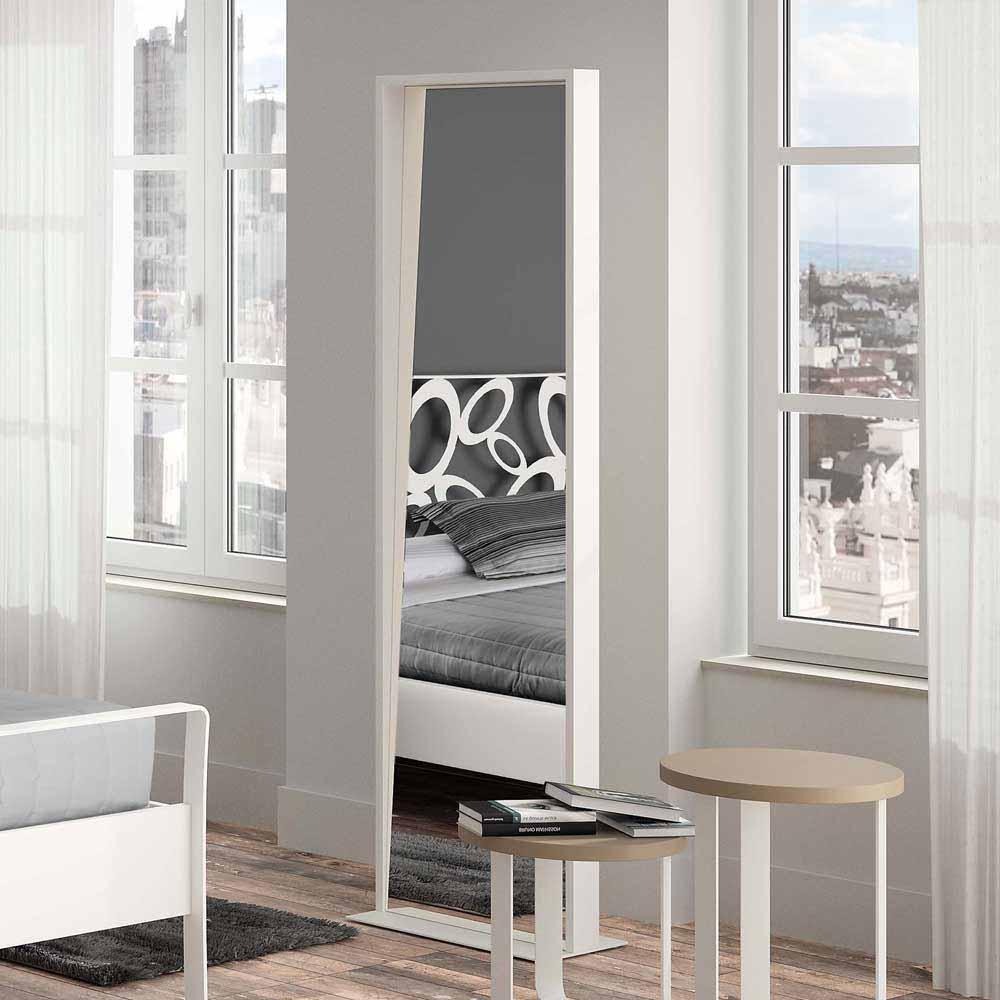 Ankleidespiegel in Metall | Flur & Diele > Spiegel > Standspiegel | Violata Furniture