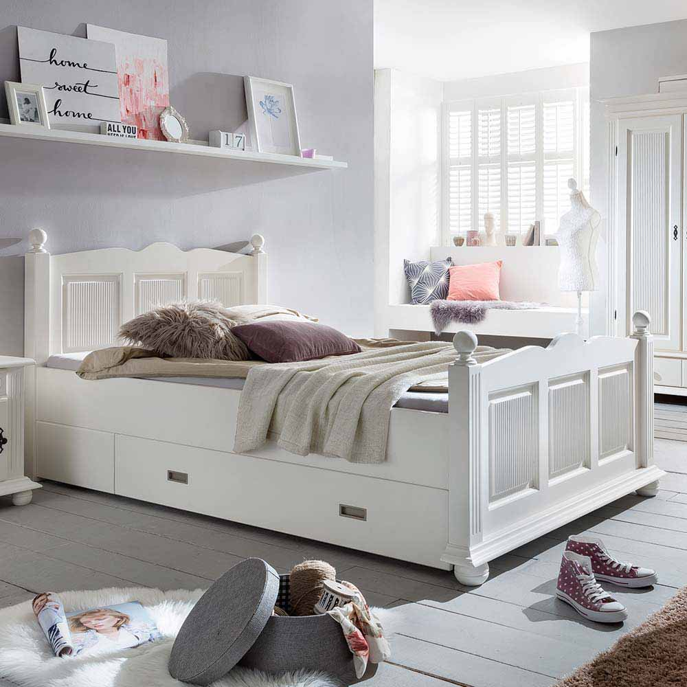 natura classico landhausbetten online kaufen m bel. Black Bedroom Furniture Sets. Home Design Ideas