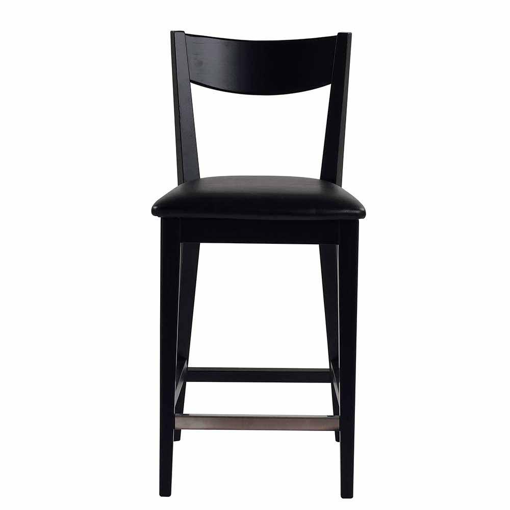 schwarz-kunstleder Holzstühle online kaufen | Möbel-Suchmaschine ...