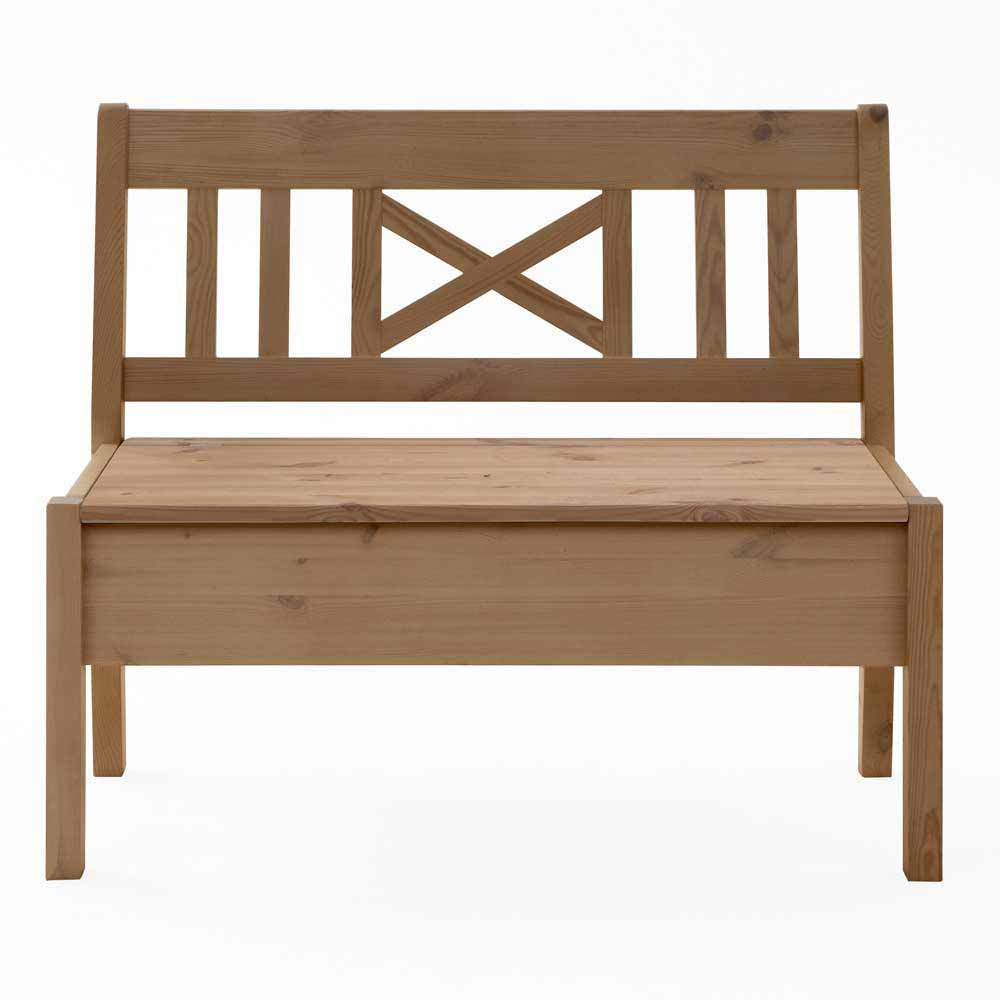 Esszimmerbank aus Kiefer massiv Stauraum | Küche und Esszimmer > Sitzbänke > Einfache Sitzbänke | Life Meubles