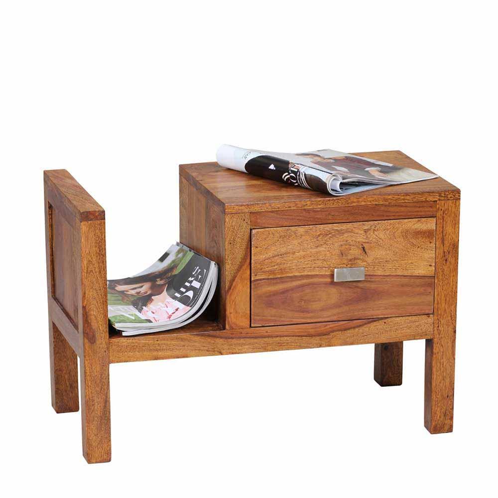 sheesham holz nachttischkommoden online kaufen m bel. Black Bedroom Furniture Sets. Home Design Ideas