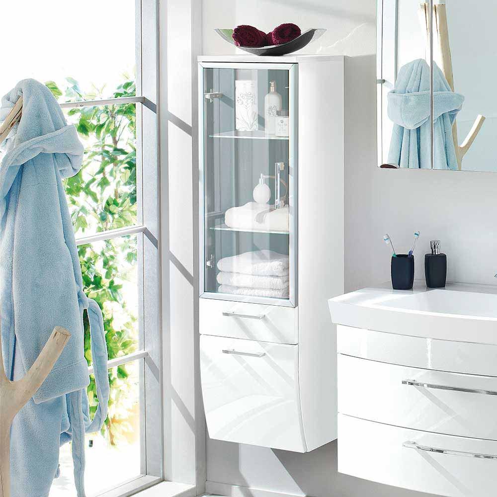 Badezimmerschrank Interio | Slagerijstok