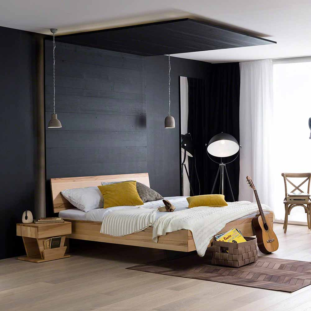 massivholzbetten online kaufen m bel suchmaschine. Black Bedroom Furniture Sets. Home Design Ideas