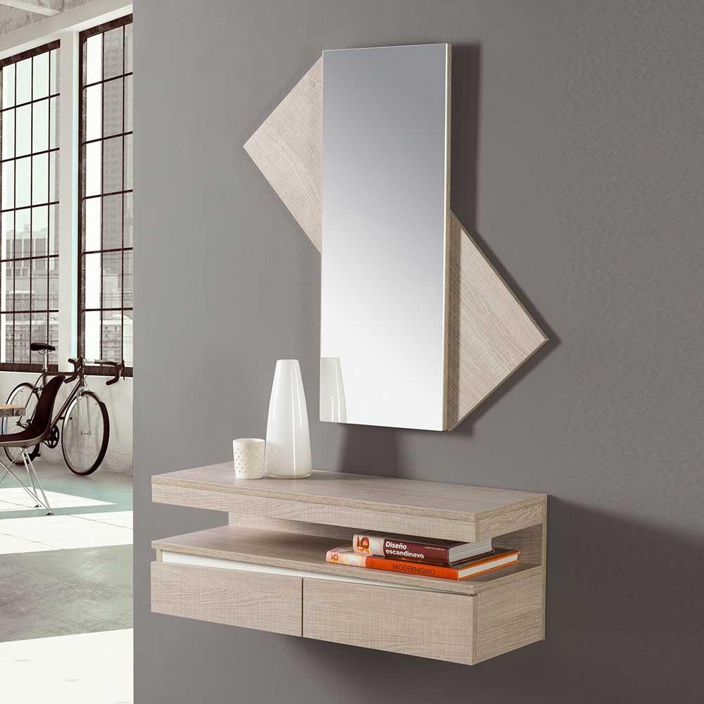 Design Flurmöbel in Eiche Sonoma kaufen (2-teilig)