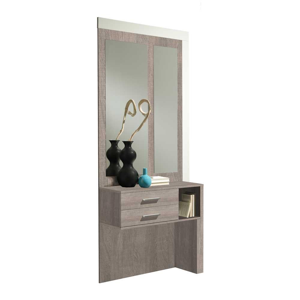 Furnitara Spiegelpaneel in Sonoma Eiche Schubladen (2-teilig) jetztbilligerkaufen