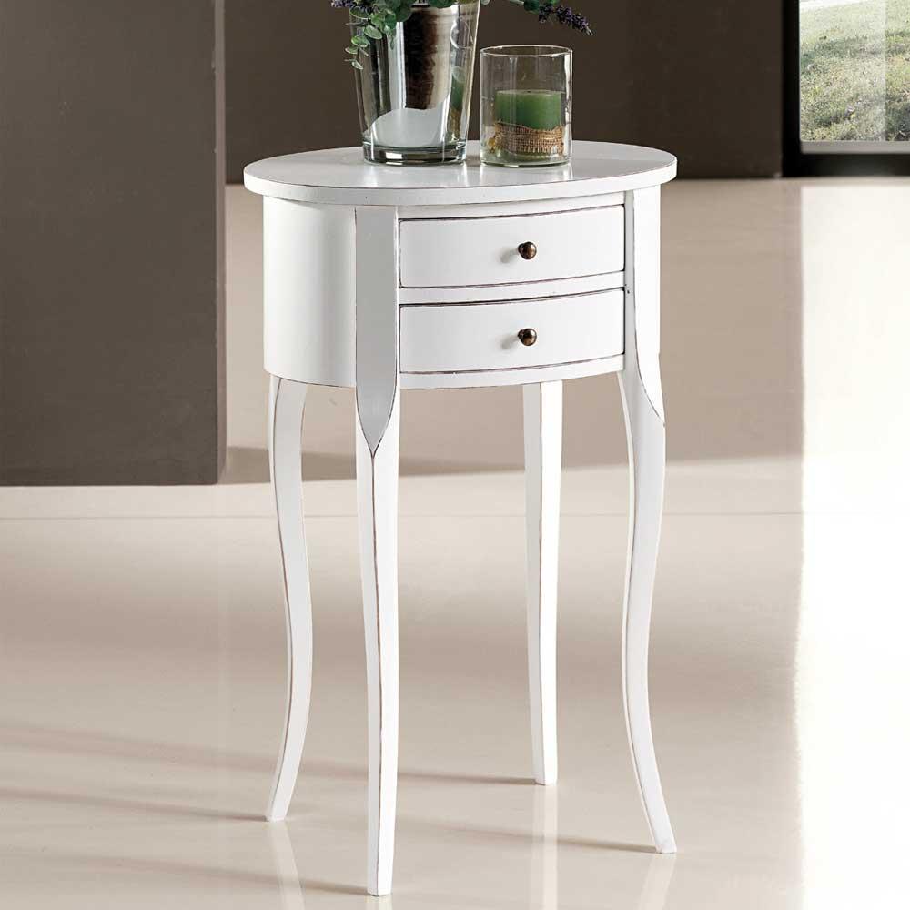 Nachttisch in Weiß italienischen Design