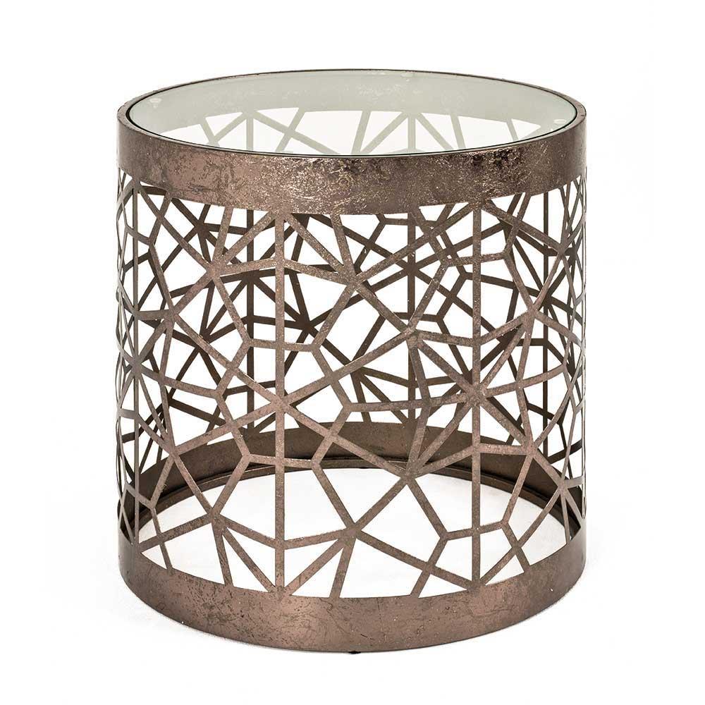 Bronzebronze beistelltische online kaufen m bel for Travertin tisch