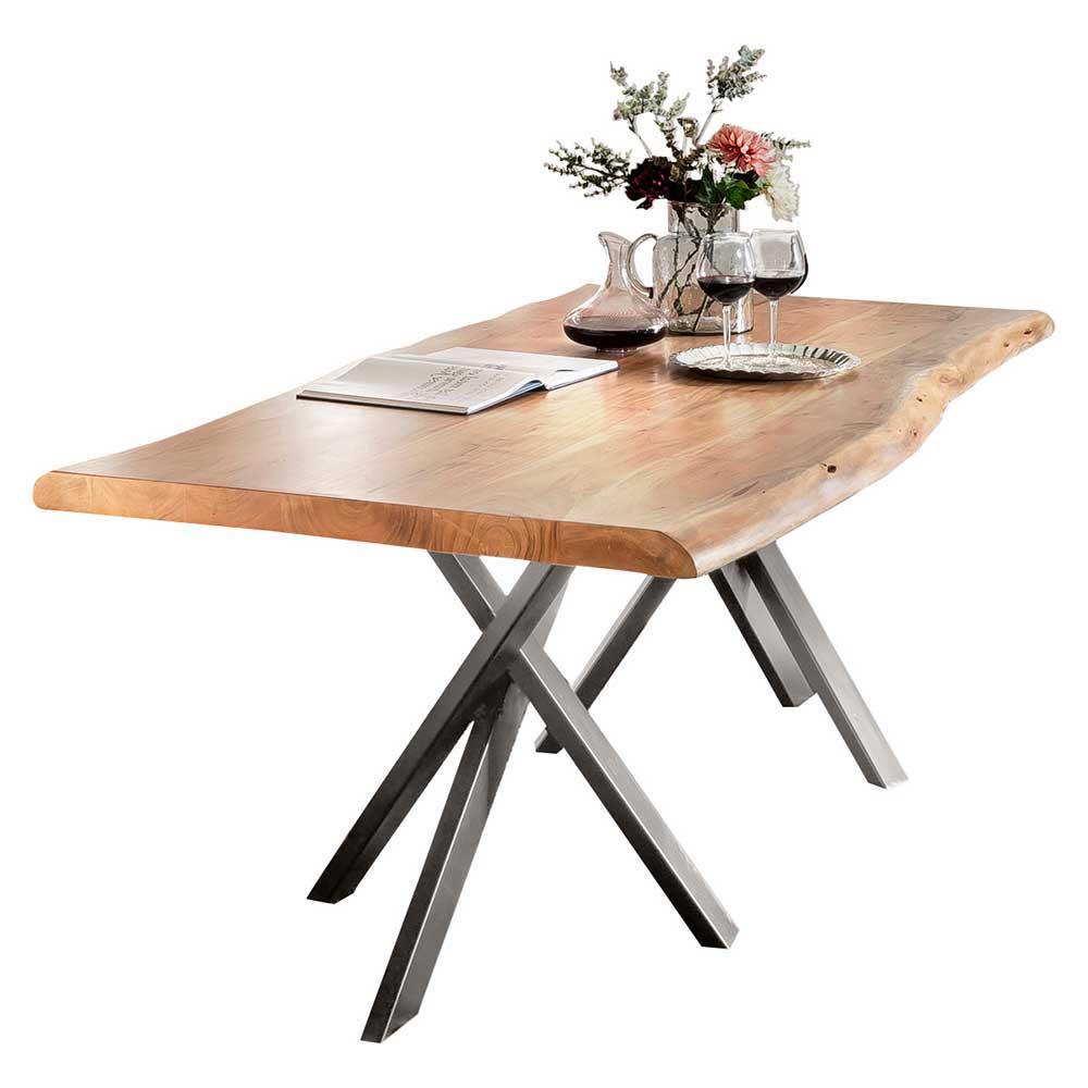 Zurbrüggen Küchentisch: Silber-holz Esstische Online Kaufen