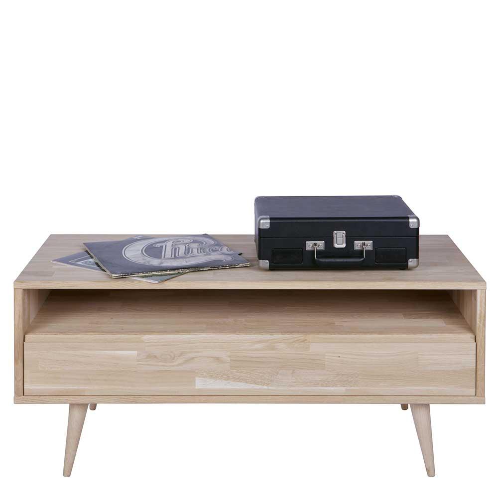 TV Lowboard aus Eiche teilmassiv 100 cm