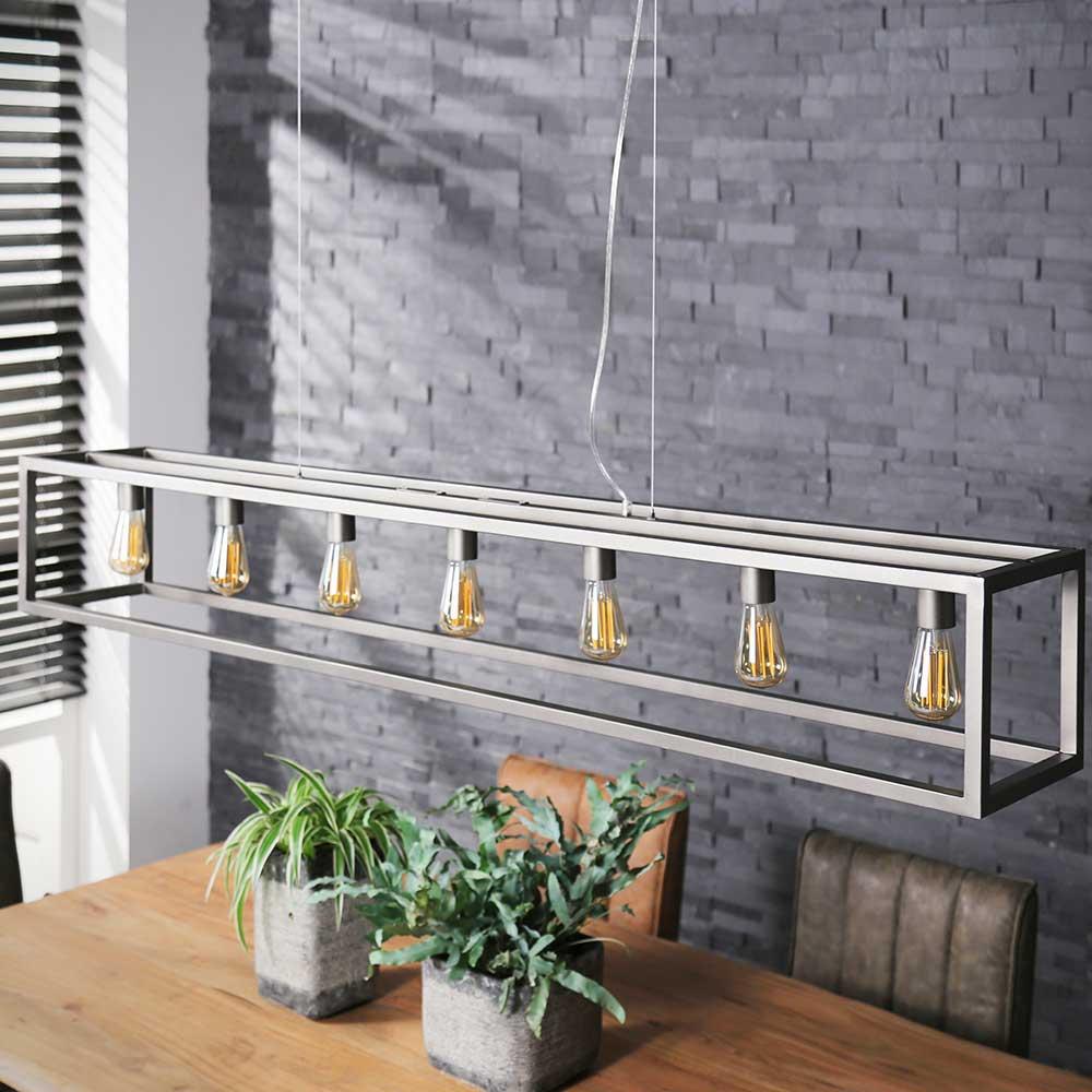 Design Hängelampe aus Metall Loft Style