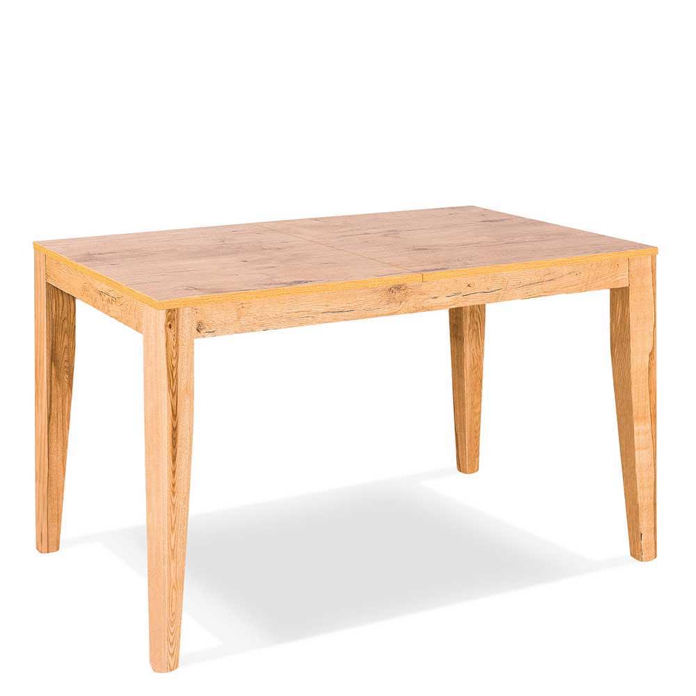 Bezaubernd Holztisch Ausziehbar Foto Von Esche