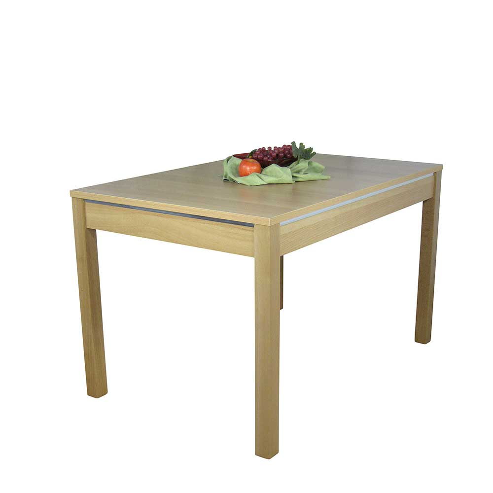 Küchentisch aus Buche 160 cm breit | Küche und Esszimmer > Esstische und Küchentische > Küchentische | Möbel4Life