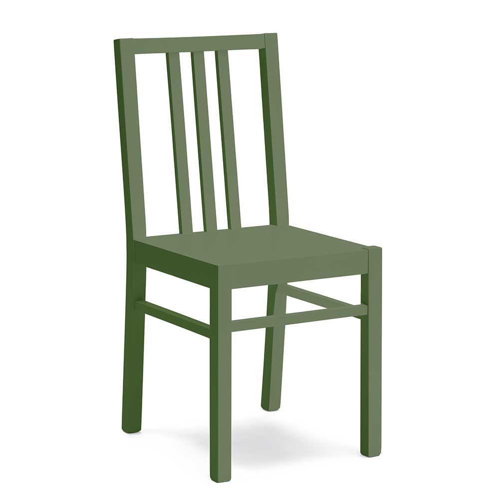 gruen-lackiert Holzstühle online kaufen  Möbel-Suchmaschine