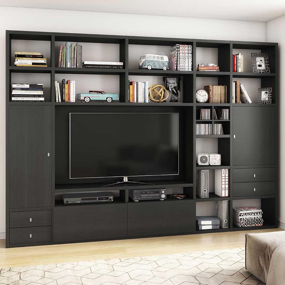 braun-mdf TV-Wände online kaufen | Möbel-Suchmaschine ...