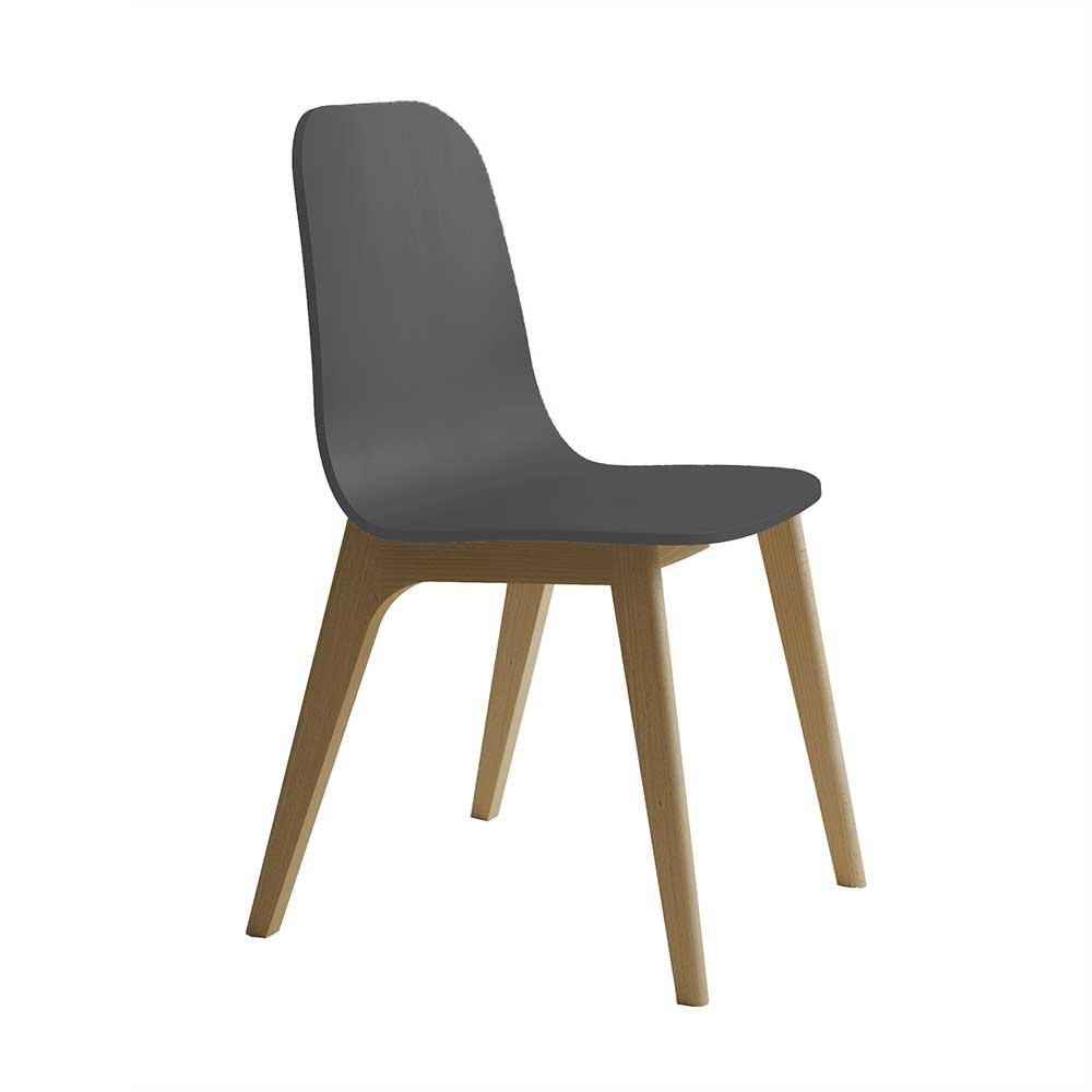 grau sperrholz Esszimmerstühle online kaufen | Möbel