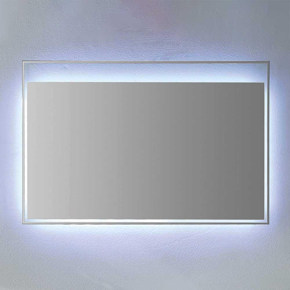 Glasspiegel mit LED Beleuchtung Bad   Bad > Spiegel fürs Bad > Badspiegel   Weiß   Glas   Furnitara