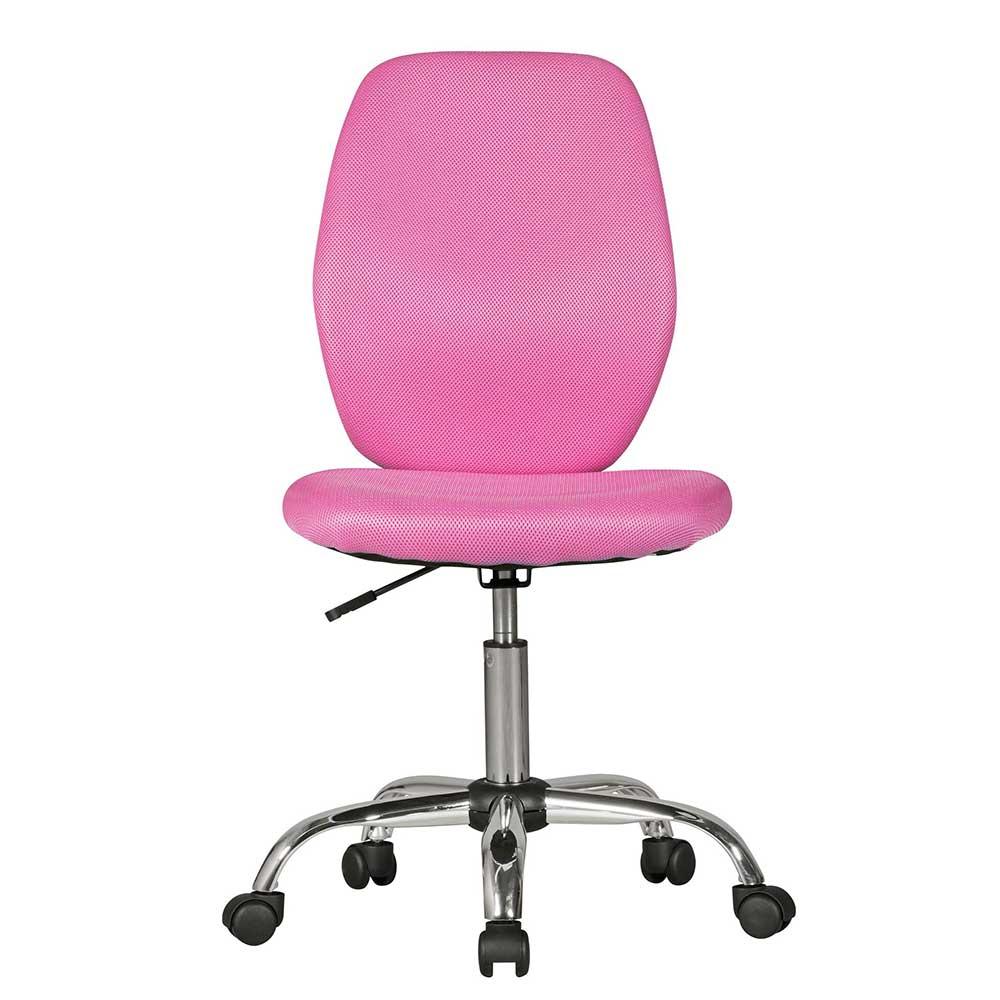 Kinderschreibtischstuhl in Pink Meshgewebe | Kinderzimmer > Kindertische > Kinderschreibtische | Pink | Aluminium | Möbel4Life