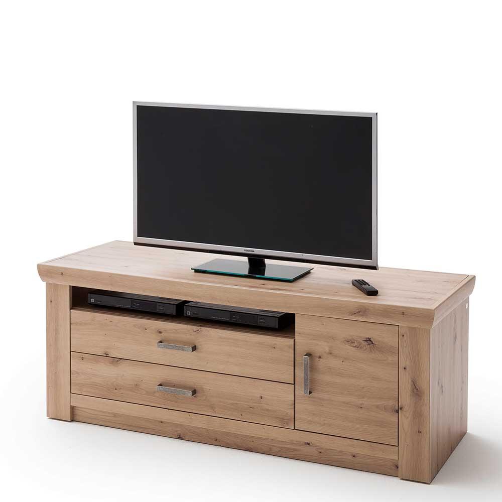 TV Kommode in Eichefarben 60 cm hoch