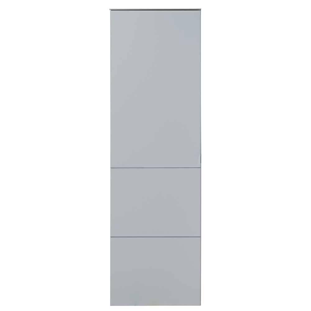 Garderobenschrank in Lichtgrau 55 cm breit | Flur & Diele > Garderoben > Garderobenschränke | BestLivingHome