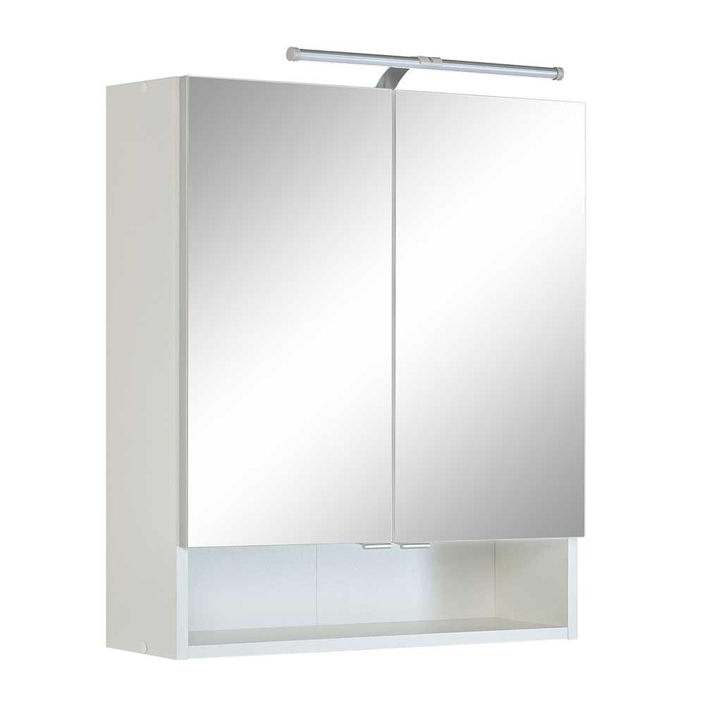 Badezimmer Spiegelschrank In Weiss 60 Cm Breit Moebel Suchmaschine Ladendirekt De
