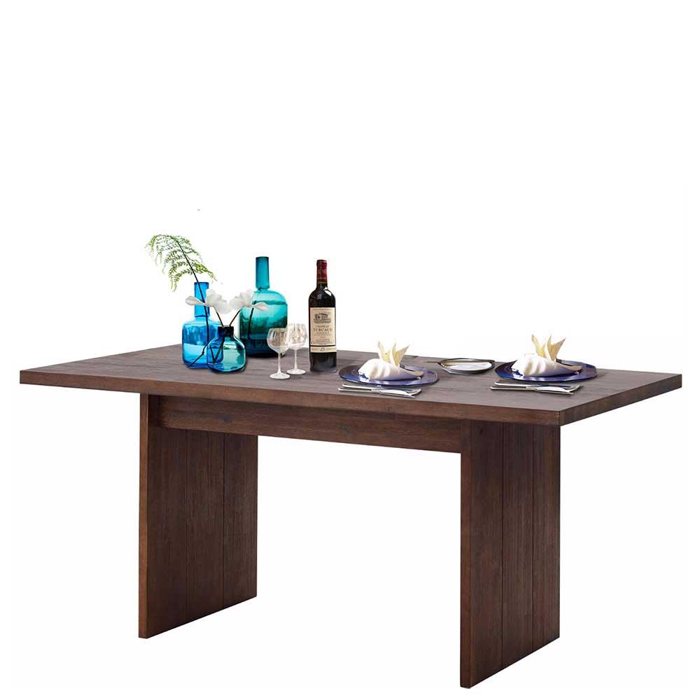 Wangen Esstisch aus Akazie Massivholz modern