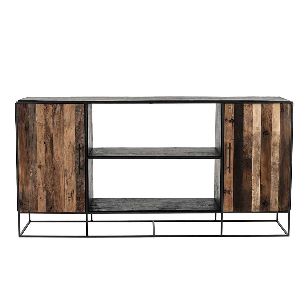 Esszimmer Kommode aus Recyclingholz und Eisen 180 cm breit