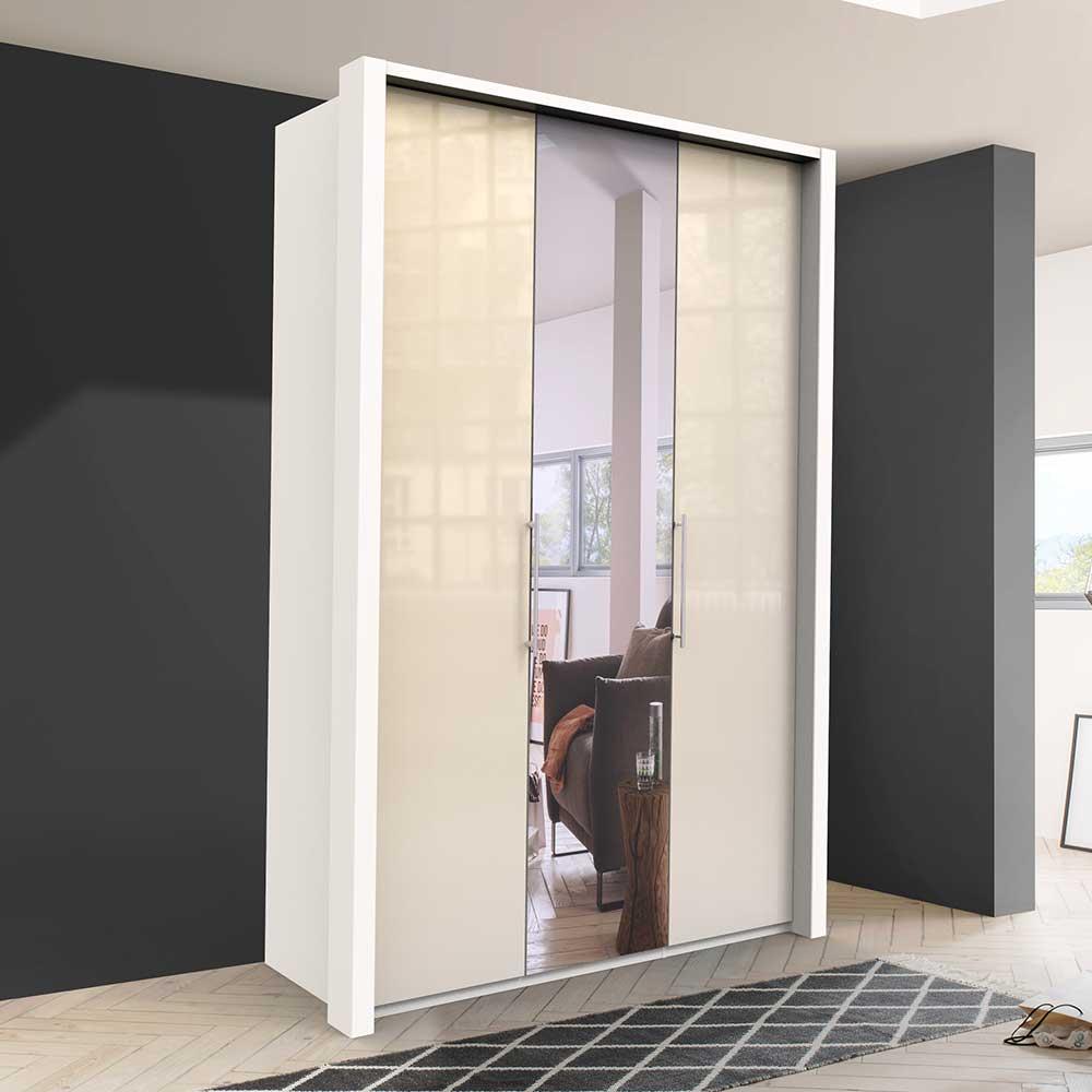 Kleiderschrank in modernem Design Spiegel