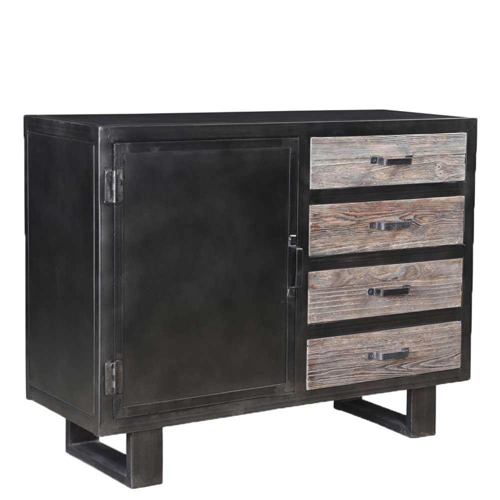 Sideboard mit einer Tür vier Schubladen